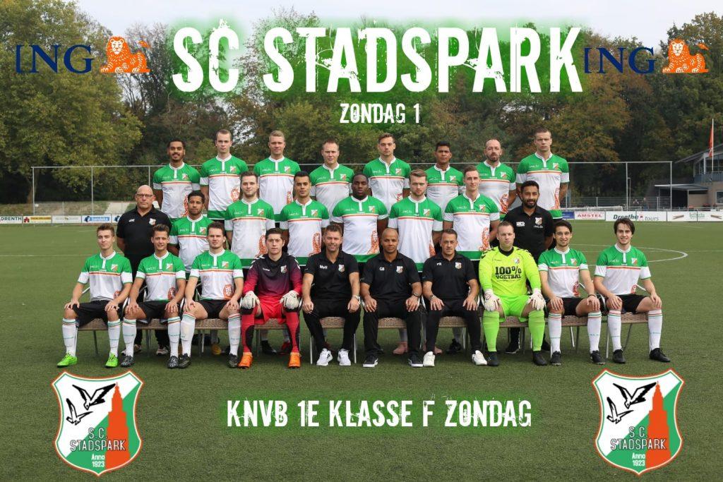 SC Stadspark zo1 tegen VV Bergum