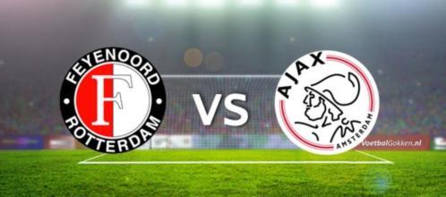 Feyenoord - Ajax live te zien in kantine SC Stadspark