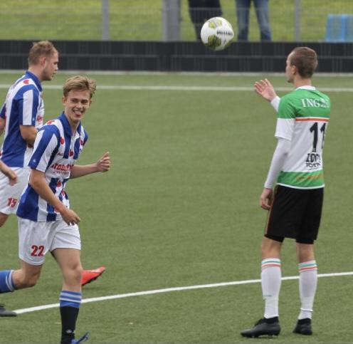 Geen punten voor s.c. Stadspark zondag teams in Stadspark!